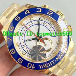 Schweizer chronograph automatisch online-JF Luxury Herrenuhr 116688 Uhr Schweizer Uhrwerk 7750 Automatik Chronograph Saphirglas Edelstahl Blau Keramik Lünette Weißes Zifferblatt