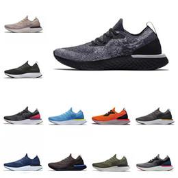 zapatillas ligeras Rebajas 2019 Epic React Fly Knitting Zapatos para correr Ligero Transpirable Casual Diseñador Trainer Hombres Zapatos Deportes Zapatillas de deporte para correr