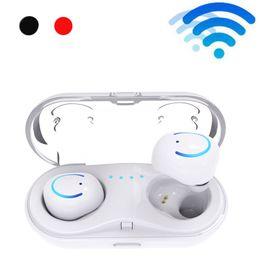 2019 hd mic Auricular Bluetooth HBQ Q18 tws auricular inalámbrico Mini auricular auriculares auriculares auriculares en cápsulas de aire del oído + micrófono HD para xiaomi huawei hd mic baratos