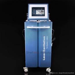 Viso a spruzzo online-5 in 1 Vacuum Spray Viso Silenzioso Ultrasuoni Lipo aspirazione Cavitazione Riscaldatore Perdere Peso Macchina Lifting