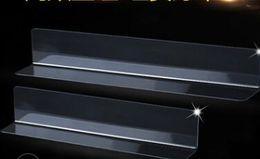 Affichage en forme de L de supermarché de bande de garde de marchandise en forme de L de séparateur de produits de PVC de 200/250 / 300mm ? partir de fabricateur