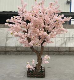 Fiore artificiale di qualità online-Nuovo Desgin all'ingrosso e alta qualità artificiale Cherry Blossom Tree con dimensioni H2mxB2m in diversi colori