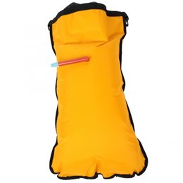 Kayak inflable Canoa Flotabilidad Flotador Bolsa de paleta Rescate flotante amarillo Auto rescate Mochila de snorkel Equipo de rafting desde fabricantes