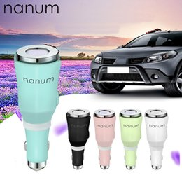 Nanum auto diffusor online-Nanum Auto Aroma Diffuser Mini-USB-Luftbefeuchter Car USB Essential Oil Diffuser Nebel-Hersteller Fogger