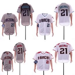 Arizona 21 Jersey Zack Greinke Jerseys dos homens 44 Paul Goldschmidt Vermelho Preto Roxo Baseball Jersey de