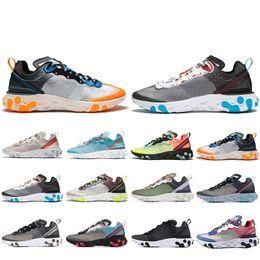 Großhandel Nike Air Max 720 Shoes Herren Sunrise Sneakers Schuhe Damen Pink Sea Trainer Hot Herren Damen Sea Forest Carbon Grau Schwarz Weiss Triple
