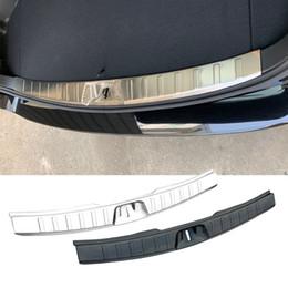 Steel Inner Rear Bumper Protector Sill Trim 1pcs For BMW 5 Series F10 2011-2015