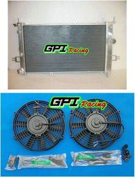 2019 flow-ventilatoren für ASTRA G 4 Z20LET GSI SRI TURBO HIGH FLOW RACE KÜHLER RAD 42mm + Fans günstig flow-ventilatoren