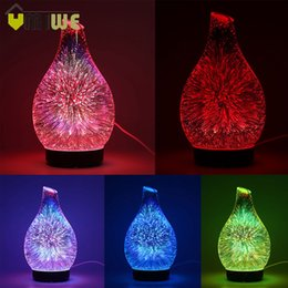 Mermaid 100ml Aromatherapy Essential Oil Diffuser, Portable Cool Mist Ultrasonic Aroma Humidifier with 7 Color Changing LED Lights, Waterless Auto Off
