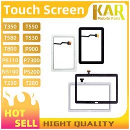 schermata lcd per mega della galassia Sconti 10pcs touch screen per Samsung Tab pannello touch screen per Samsung T113 T116 T211 T230 P5100 S10-231U T387 A5500 A3300 touch screen libera la nave