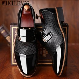 men patent leather shoes oxfords Coupons - formal shoes men loafers mens dress shoes oxford for men zapatos hombre vestir formal sapato social masculino