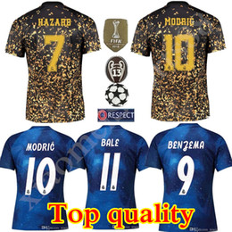 2021 ausgabeversion 2020 Real Madrid Limited Edition Fussball Jersey blaue EA Sports Jerseys # 12 Marcelo # 10 Modric Real Madrid Sonderversion Football Hemden günstig ausgabeversion