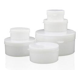 100 шт./лот медицинские пластмассы пустой косметический контейнер маленькая коробка банку горшок для теней для век Крем для ногтей советы украшения ящик для хранения 20180629 от