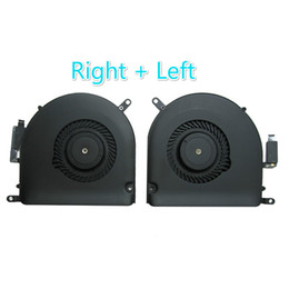 """ONE Pair Right/&Left Side CPU FAN For Apple MacBook Pro 15""""Retina A1398 2013-2017"""