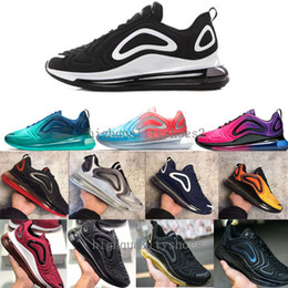 watch 8872a 18ba2 shoes light night Promotion nike air max 720 Basique Cuir Casual Chaussures  Pas Cher Mode Hommes