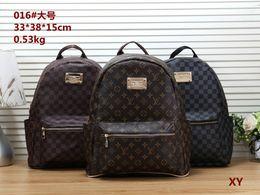 grande bolsa preta bonita Desconto Frete grátis 2019 Nova Europa Designer Marca N41379 Damier Cobal Mens Mochilas de Alta Qualidade saco de Escola Quente