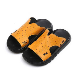 b40c12f5fd6d54 boys sandals 2019 - Children Slippers Boys 2019 Summer Kids Beach Shoes  Toddler Sandal Girls Sandals