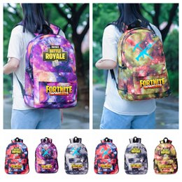 7d122fe9bd93 Fortnite Game Kids Backpacks Boys   Girls  Casual Backpack Travel Outdoors  Sports Bags Students School Bag Large Capacity