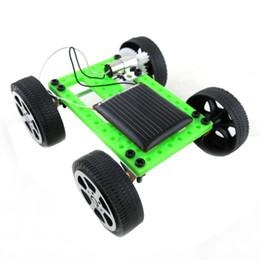 2019 pájaro volador de juguete al por mayor Mini hecho a mano con energía solar juguete niños gadget educativo afición DIY kit de coche