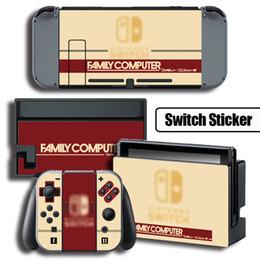 2019 кожаный винил ps4 Для Nintendo переключатель наклейки геймпад резиновые наклейки ACG для док-станции и сцепление
