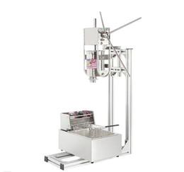 Canada Livraison Gratuite Churro maker Espagnol commerciale 3L Churros maker machine avec 6L Litres Électrique Friteuse Offre