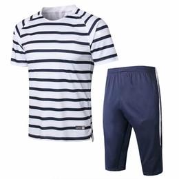 Jerseys polo online-Tamaños del euro, kits de fútbol 2018 2 estrellas Maillot de Foot survetement Equipe de France Croacia entrenamiento polo jogging camisetas de fútbol chándal