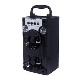 dvd de navegación de lexus Rebajas MS-206BT Reproductor de música Altavoz inalámbrico Radio FM portátil Soporte Aux. Tarjeta Bluetooth para soporte de Bluetooth al aire libre