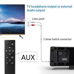telas de chão Desconto Soundbar Bluetooth Speaker 2.0 Canal Com Fio e Sem Fio Bluetooth TV Soundbar Áudio 31.5 Polegada 40 W Subwoofer Embutido Controle Remoto