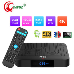 2019 3d hd box Оригинальный M9S W1 2 ГБ 16 ГБ Android 7.1 ТВ Box Quad Core Amlogic S905W с 2,4 ГГц Wi-Fi 3D 4K с поддержкой IPTV HDMI 4K H.265 лучше S905X2 T95 X2 дешево 3d hd box