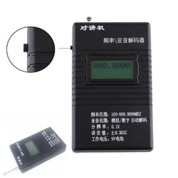 Leitor de freqüência on-line-RK560 leitor de frequência de intercomunicação testador de frequência testador Moniya J032