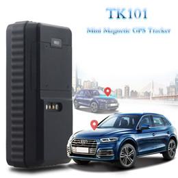 2019 baterias fáceis Bateria Waterproof uso ao ar livre 3000mAh longo tempo de espera GPS Car Tracker TK101 com caixa Magnetic GPS Portableeasy como Oculto baterias fáceis barato