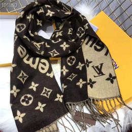 Kaschmir stirnbänder online-Hot Womens Stirnband Tasche Schal Fashion Classic Luxury Cashmere Schal Schals Fashion Hair Band High Qualtiy Head Scarf