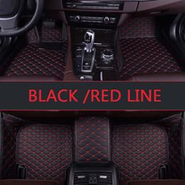 2019 prix du revêtement de sol Tapis de sol sur mesure pour voiture pour tapis de moquette tout temps, style voiture 3D style voiture, style Cadillac ATS CTS XT5 promotion prix du revêtement de sol