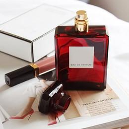 Bouteille rouge parfum femme en Ligne-A +++! Christmas Red bottle No 5 5 LE Eau De Parfum pour femme 100ML avec longue durée bonne odeur parfum élevé capactity