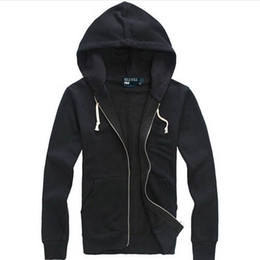 polo sport hoodie Promo Codes - Fashion- Free shipping 2017 new Hot sale Mens polo Hoodies and Sweatshirts autumn winter casual with a hood sport jacket men's hoodies