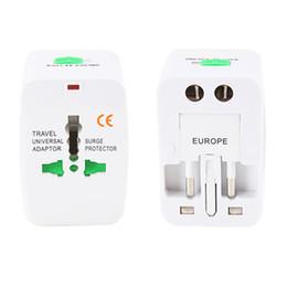 2019 conectores de cable ip68 Enchufe eléctrico Adaptador de enchufe de corriente Viaje internacional Convertidor de cargador de corriente de enchufe universal UE Reino Unido EE. UU.