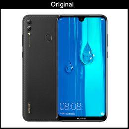 teléfonos celulares huawei india Rebajas Firmware global Huawei Enjoy Max 4GB RAM 64G / 128GB ROM Snapdragon 660 Octa core Dual Back Camera 7.12 pulgadas 5000mAh Celular