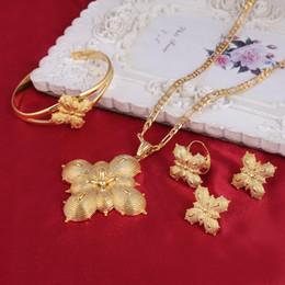 2019 oro etioco Set di orecchini pendenti in oro massiccio 14 k oro massiccio / etiopico / eritreo / Habesha oro etioco economici
