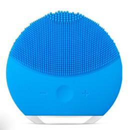 LUNA Mini 2 Instrumento de limpieza Cepillo de limpieza facial Limpiador para la cara Sonic Limpieza de la piel Nivel médico Cepillo impermeable Siliconec TOP desde fabricantes