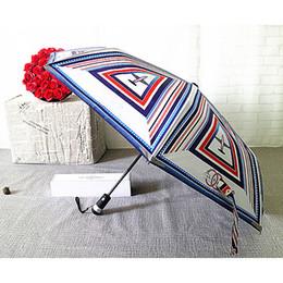 2019 зонтичные сумки Роскошный классический шаблон самолета логотип Зонтик для женщин 3 раза роскошный зонтик с подарочной коробке и сумке дождь зонтик VIP бесплатно DHL 702 скидка зонтичные сумки