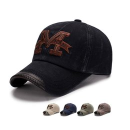 3c91f09088e127 Spring and autumn trade washed hats men leisure do old baseball caps outdoor  embroidered shade hats