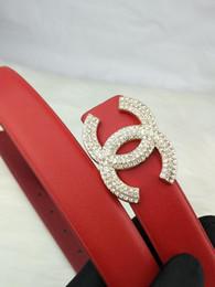 19ss Мода Кожаный ремень мужчины женщины топ Классический Ventage Медные пряжки ремни ceinture Пояс # CH21 от