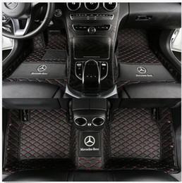 C benz online-Para todos los modelos Mercedes-Benz Clase C 2010 ~ 2018Sombrillas de piso No tóxicas e inod Alfombras antideslizantes impermeables Alfombra de piso No tóxicas e inodoras