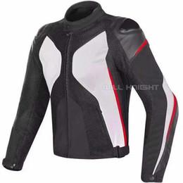 schwarzer motorrad-rennanzug Rabatt Dain Super Rider D-Dry Jacke Mesh Textil Leder Motorrad Racing Street Motorrad Motocross Weiß Schwarz Rot Anzug