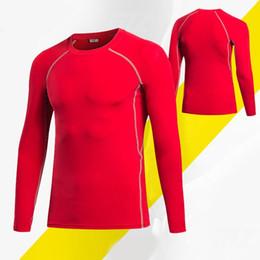 Magliette leggere online-T-shirt casual in jersey a maniche lunghe con patchwork manica lunga o-collo casual da uomo, primavera sportiva, autunno in alto