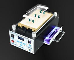Argentina Divisor de pantalla LCD Divisor de pantalla inteligente de la bomba de vacío Cuatro en uno con luz de curado Reparación de la pantalla táctil Suministro
