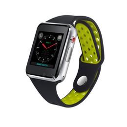 Емкостные часы онлайн-Умные наручные часы M3 с 1,54-дюймовым ЖК-дисплеем OGS емкостный сенсорный экран SmartWatch Слот для SIM-карты Камера для телефона Android Часы оптом