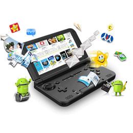 controladores del sistema de juegos Rebajas Original GPD XD Plus 5 pulgadas sistema Android 7.0 4 GB / 32 GB MTK 8176 Consola de juegos portátil Tableta controlador inalámbrico Bluetooth