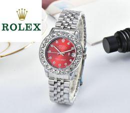2019 pendentif ovale plaqué or en gros Montres de luxe pour femmes Original mouvement à quartz en acier inoxydable montre-bracelet multicolore choisir des montres automatiques de haute qualité