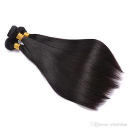 Brezilyalı Virgin İnsan Saç Dokuma 3 Paketler Düz, Ucuz Ham Perulu Remy Saç Uzantıları Toptan Fiyat, Satın Gerçek Hint Doğal Co nereden gerçek perulu saç örgüsü tedarikçiler